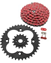 Fits Honda TRX400X 400 O Ring Chain and Sprocket Silver 15//39 96L