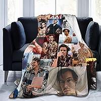 Ha-Rry_Styles Ultra Soft Luxury Micro Fleece Blanket Anti-Pilling Stylish Kawaii Travel Blanket Wearable Fleece Blanket…