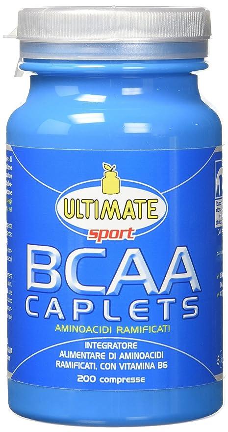 1 opinioni per Ultimate Italia BCAA Caplets Aminoacidi Ramificati- 200 Caplets