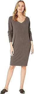 product image for Hard Tail Women's Long Sleeve V-Neck Dress