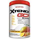 Scivation Xtend Go Amino Energy BCAA Powder, Branched Chain Amino Acids, BCAAs, Mango, 30 Servings