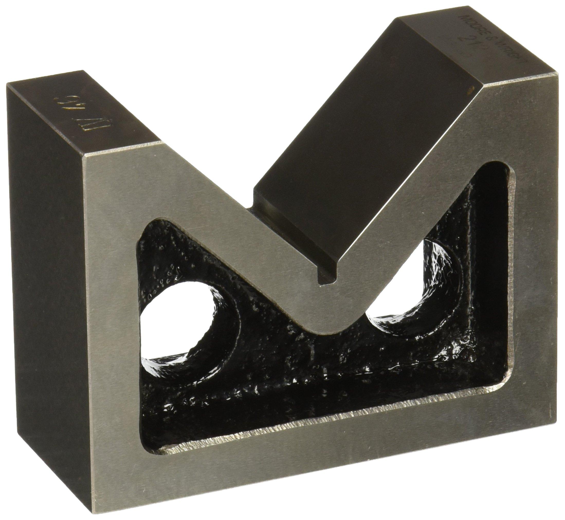 Moore and Wright Standard Pair Vee Blocks 80mm/ 3.14'' - 200 Series
