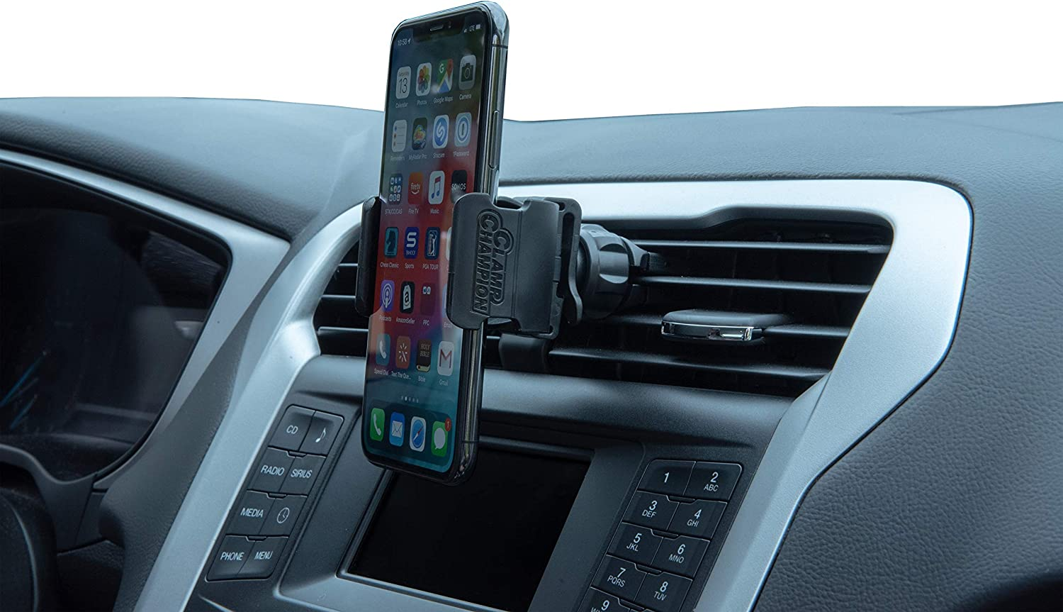 New Google Pixel 3 XL and All Phones Samsung Galaxy S9+ Car Phone Mount Air Vent Cell Phone Holder for Car Plus Bonus Rear Seat Holder Compatible with iPhone 11//11 Pro//Xs//XS Max // 8//7 // 6