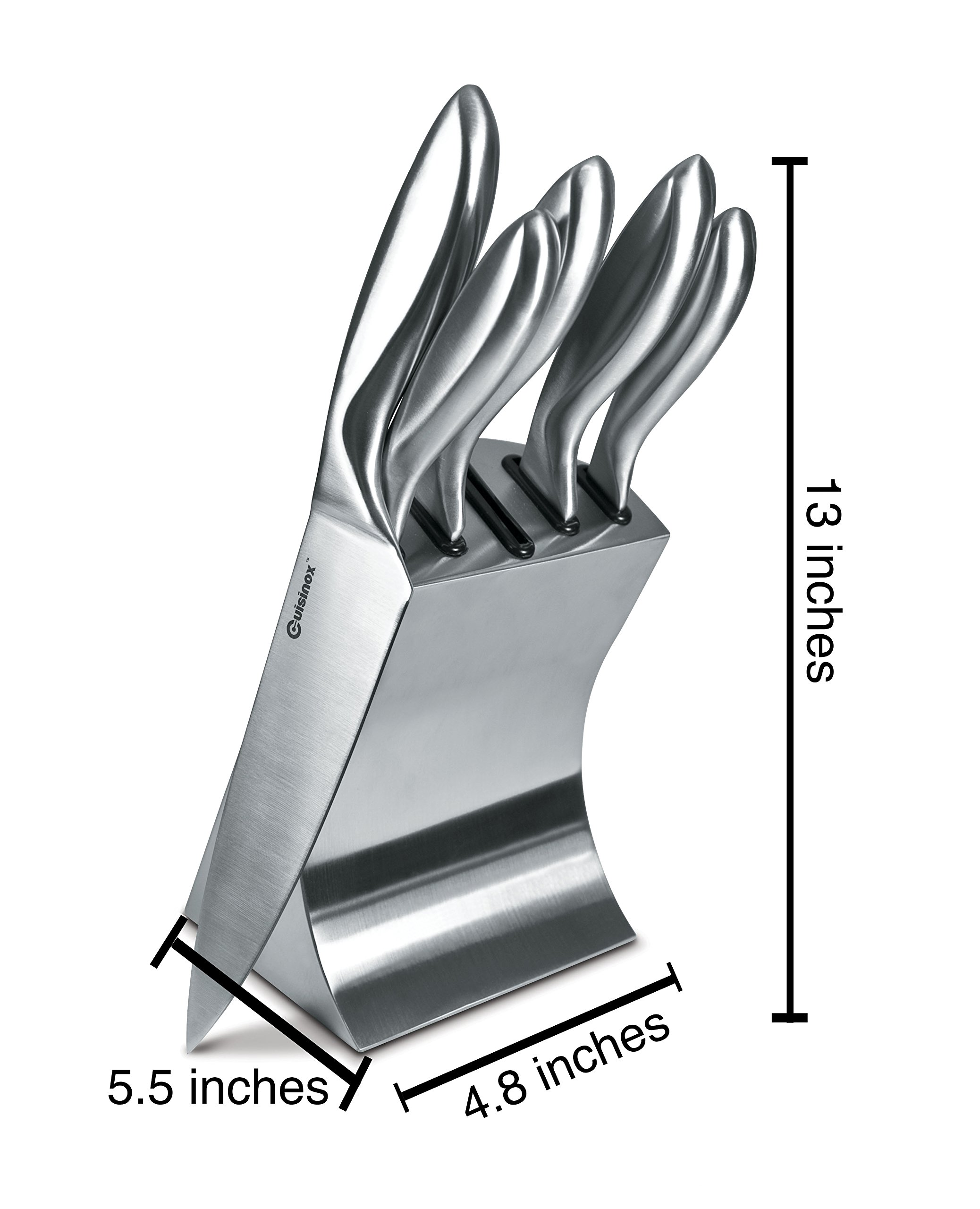 Cuisinox 6 Piece Stainless Steel Kitchen Utility Knife Set by Cuisinox (Image #2)