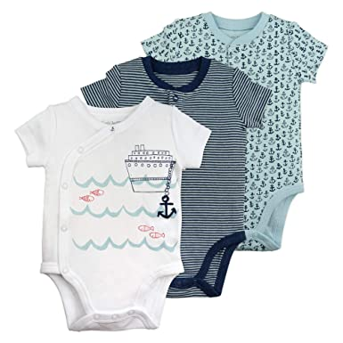 8a9137c8d5fd Amazon.com  Baby Boy Bodysuit Set