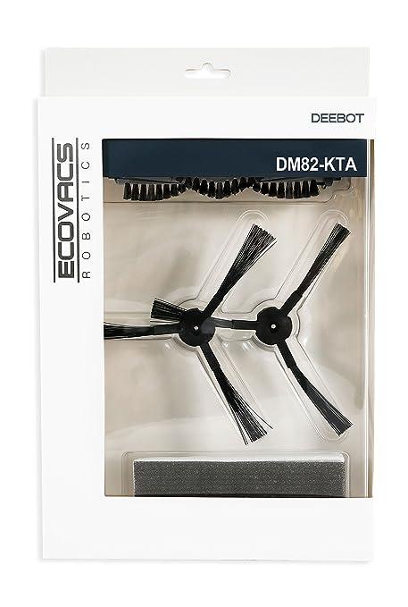 Ecovacs DM82-KTA Kit de Repuestos para Deebot M82 Plastic, Gris
