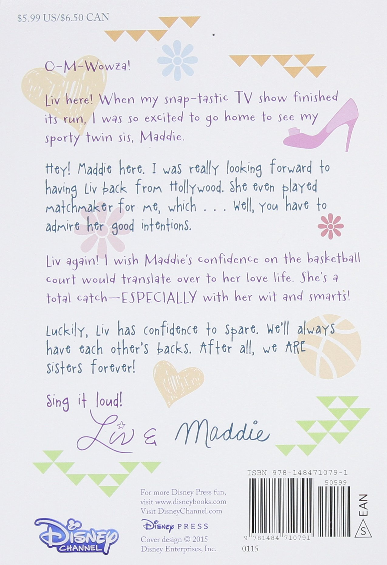 Printable coloring pages liv and maddie - Liv And Maddie Sisters Forever Liv And Maddie Junior Novel Lexi Ryals 9781484710791 Amazon Com Books