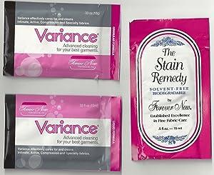 Forever New Variance Travel Variety Pack - Liquid/Granular/Stain Remedy 15 Packs