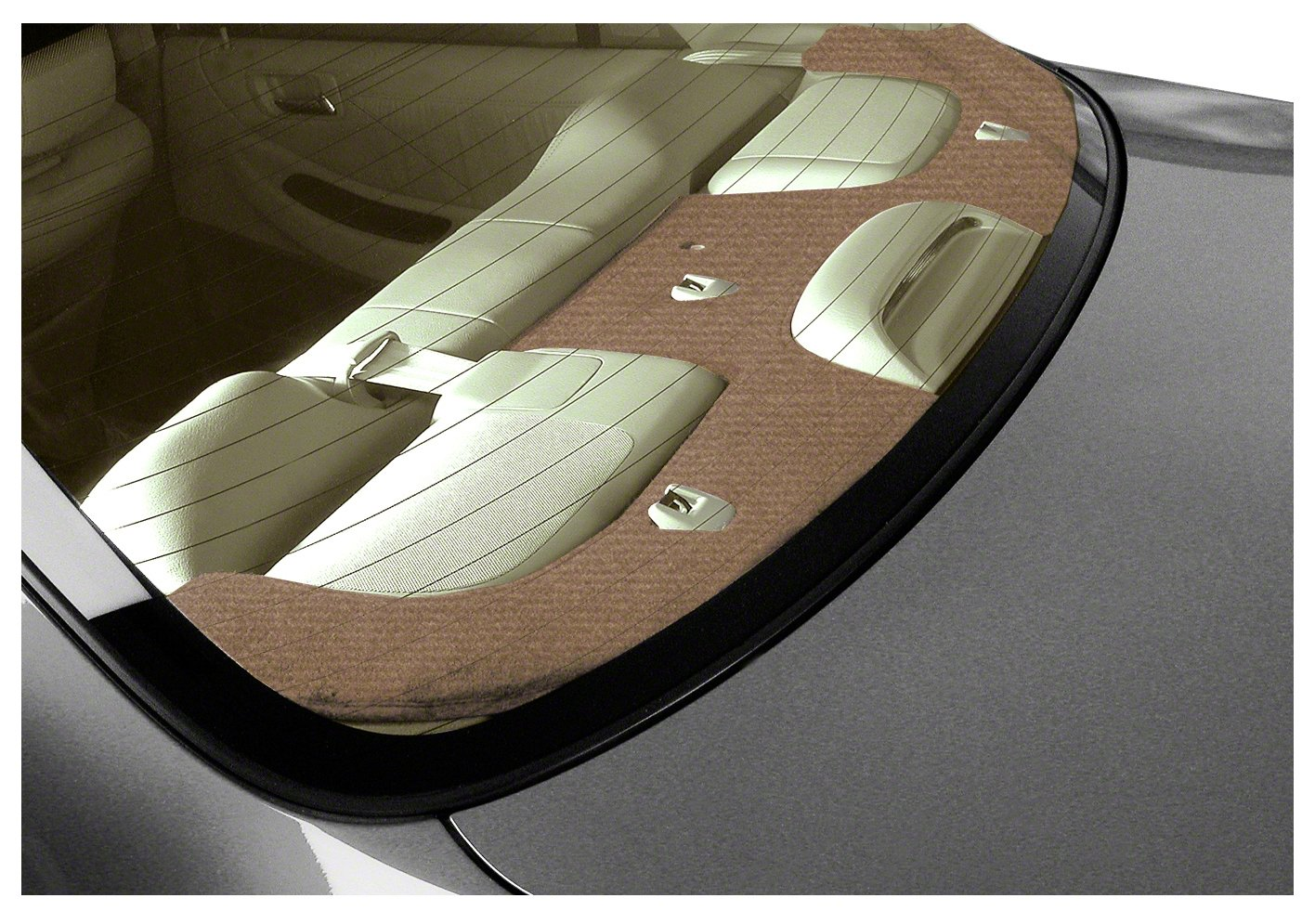 Coverking Custom Fit Dashcovers for Select BMW M5 Models - Velour (Tan) by Coverking (Image #1)