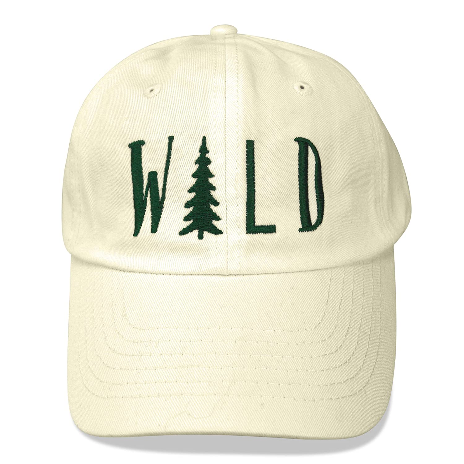 54bef33cf DALIX Hiking Hats Dad Hat Wild Custom Caps Embroidered Cap Beige at ...