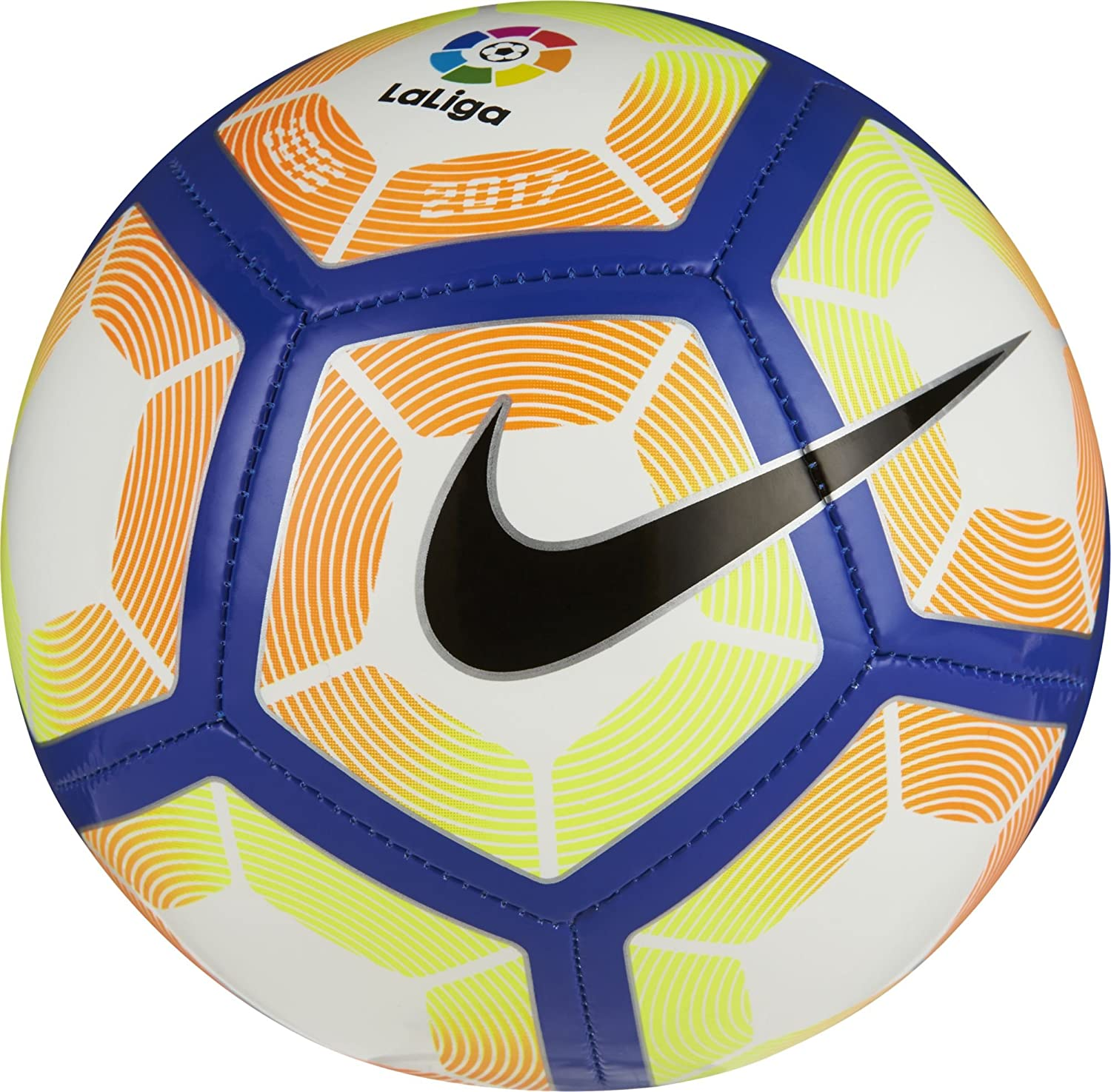 Nike Skills-La Liga LFP Balón, Unisex Adulto, (Blanco/Orange/Blue ...
