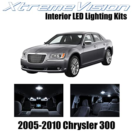 img buy XtremeVision Interior LED for Chrysler 300/300C 2005-2010 (12 Pieces) Pure White Interior LED Kit + Installation Tool