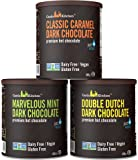 Castle Kitchen Natural Hot Chocolate Mix Variety Pack (42 Oz) - Dairy-Free, Vegan Complete Mixes - Just Add Water - Pack…