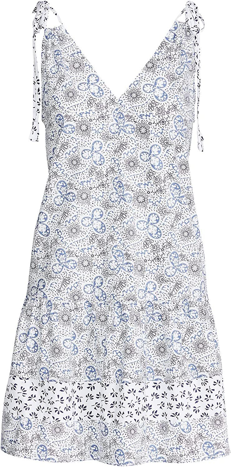 Rebecca Taylor Womens Sleeveless Cactus Floral Dress