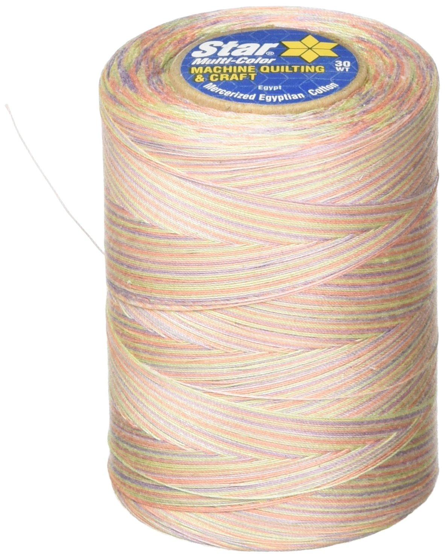 Over The Rainbow Thread /& Zippers V38-813 Star Mercerized Cotton Thread Variegated Coats