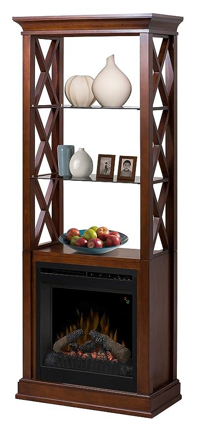 dimplex seabert bookcase electric fireplace amazon co uk kitchen rh amazon co uk Corner Electric Fireplace Dimplex Electric Fireplace Entertainment Center
