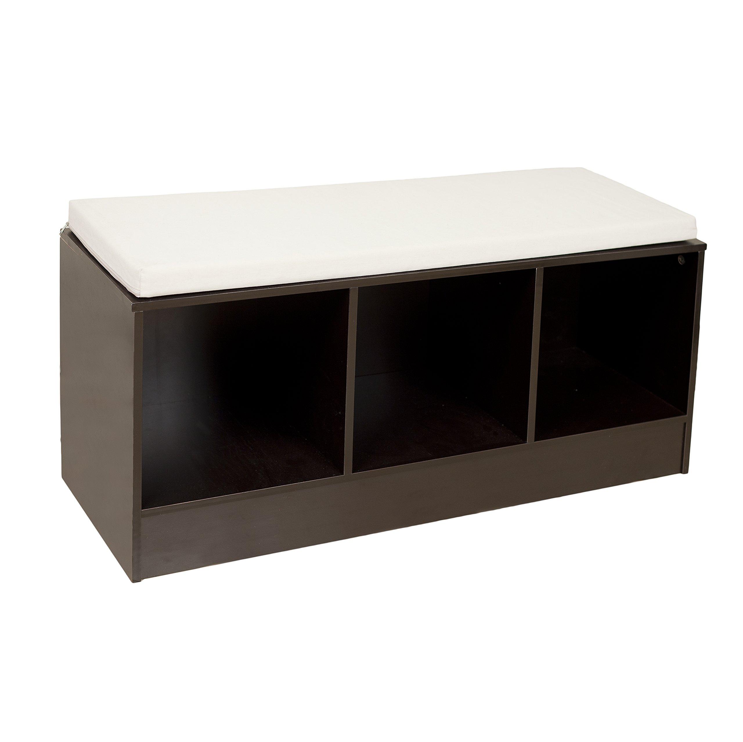 Danya B. Storage Bench with Canvas Cushion