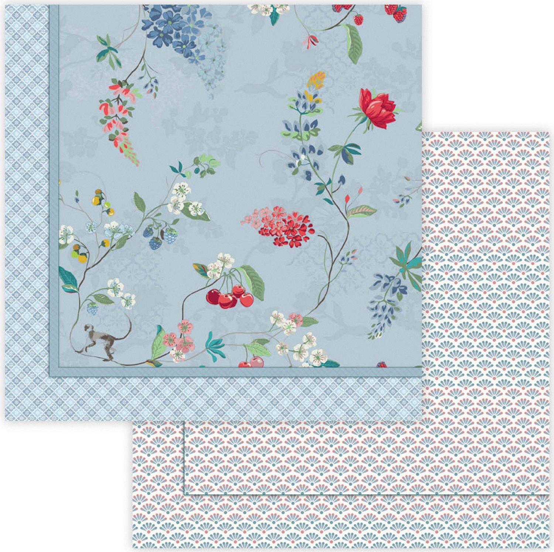 Pip Tagesdecke Baumwolle blau Größe 150x200 cm