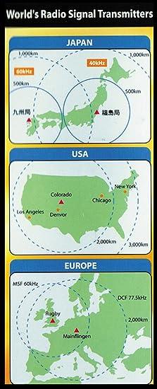 Amazon.com: Military Solar Power Radio Controlled Watch (1383k): Health & Personal Care