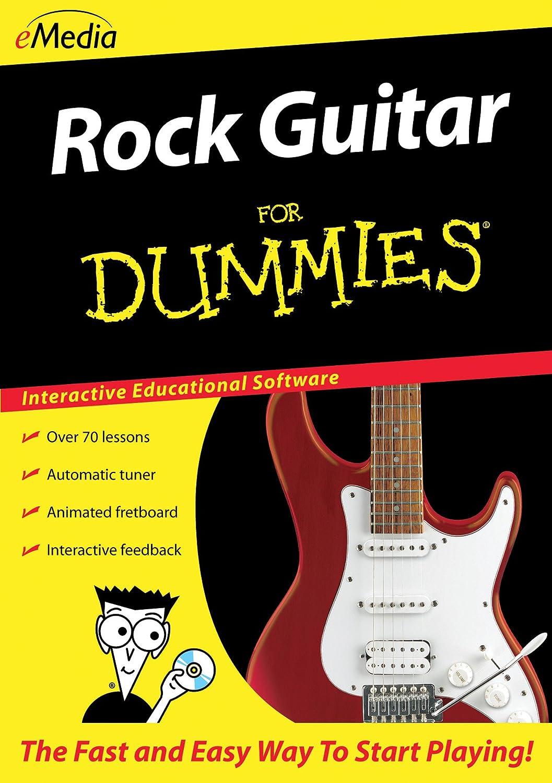 Amazon Emedia Rock Guitar For Dummies Emedia Software