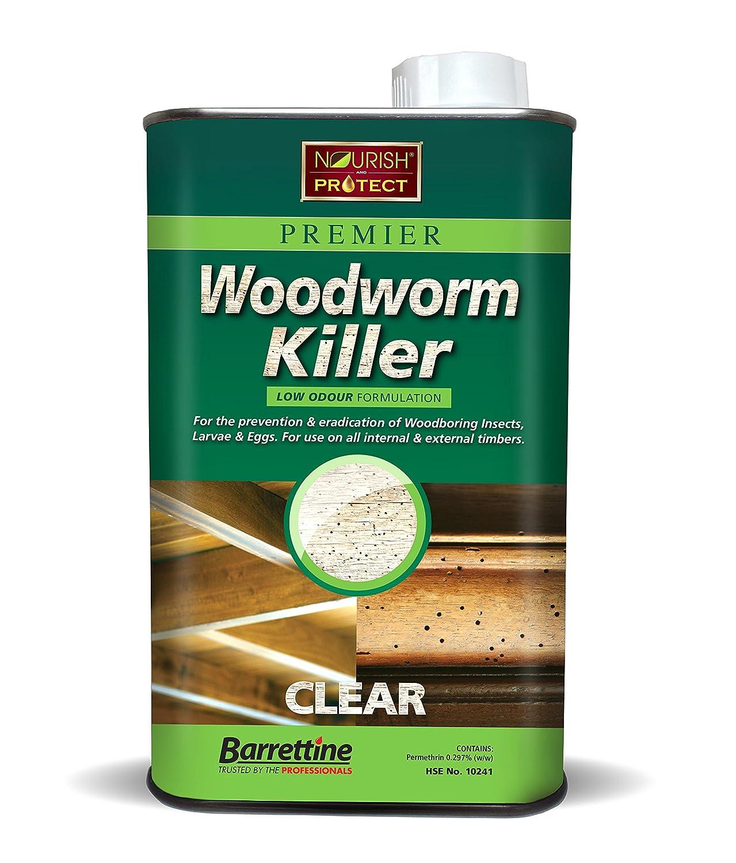 Barrenttine Woodworm Killer 1L Barrettine