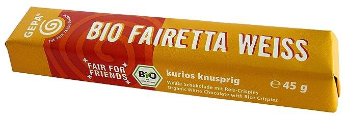 Gepa Chocolatina Blanco Crisp Bio - 45 gr
