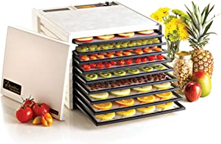 product image for Excalibur EXD3900W 9-Tray Electric Food Dehydrator with Adjustable Thermostat Accurate Temperature Control Faster and Efficient Drying Made in USA, 9-Tray, White