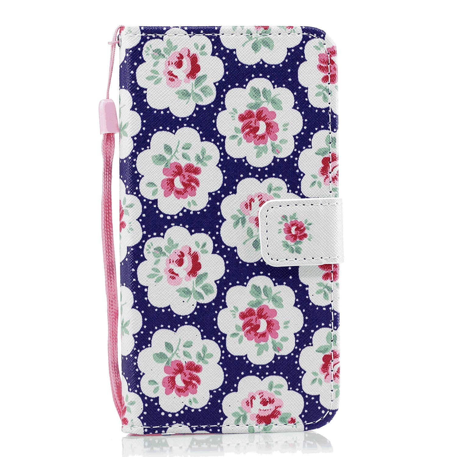 Huawei P20 Plus Flip Case Cover for Huawei P20 Plus Leather Extra-Durable Business Kickstand Mobile Phone Cover Card Holders with Free Waterproof-Bag Blue4