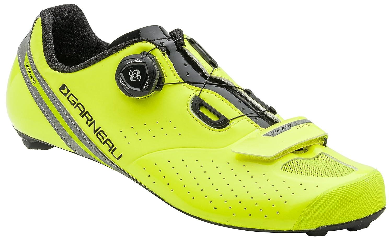 Louis Garneau – Men 's Carbon ls-100 2バイク靴 B01HHWPBEI 47|イエロー/ブラック イエロー/ブラック 47
