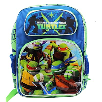 "Nickelodeon TMNT Teenage Mutant Ninja Turtle 16"" Backpack Bag"