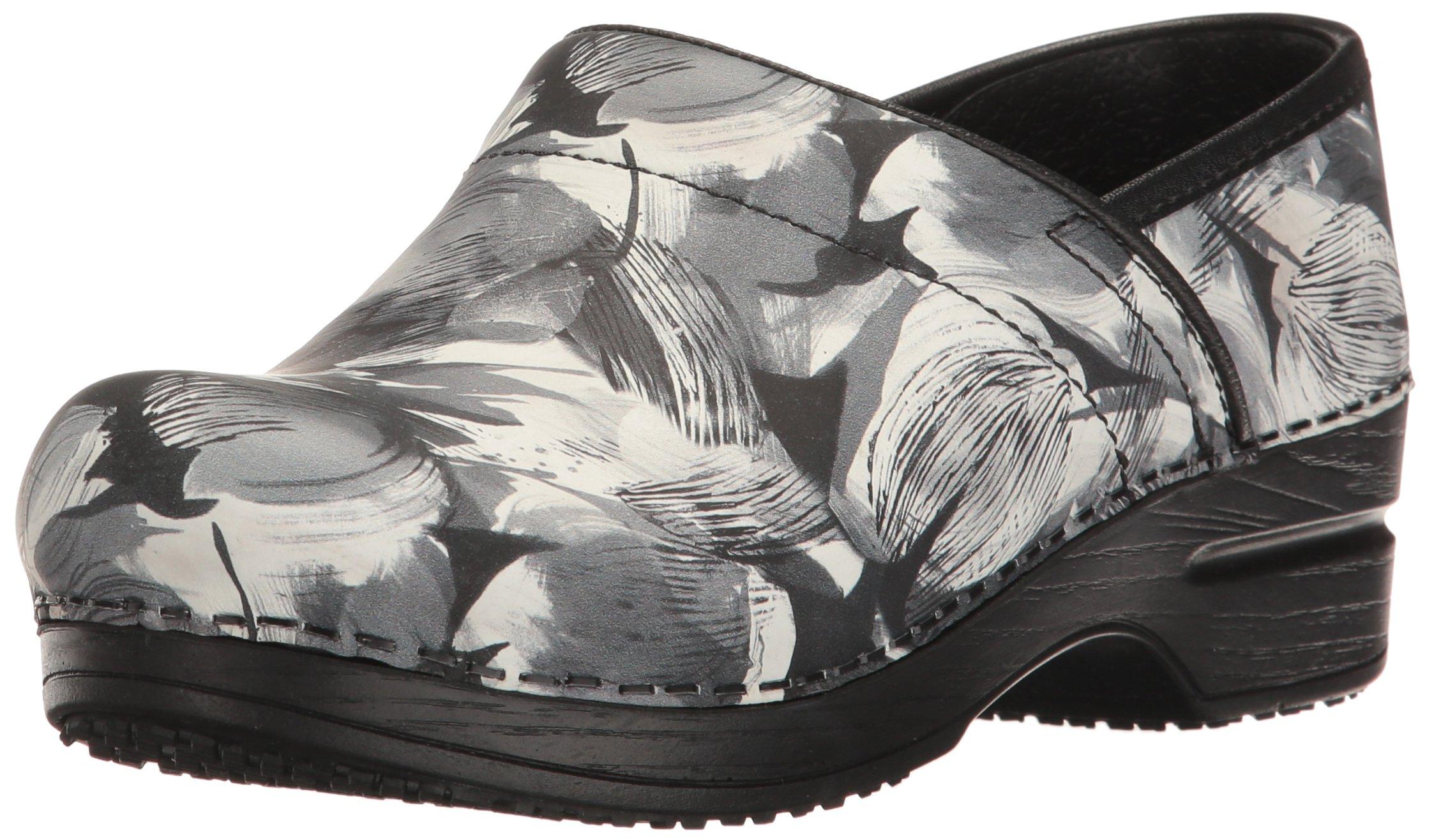 Sanita Women's Smart Step Sharon Work Shoe, Black, 39 EU/8/8.5 M US