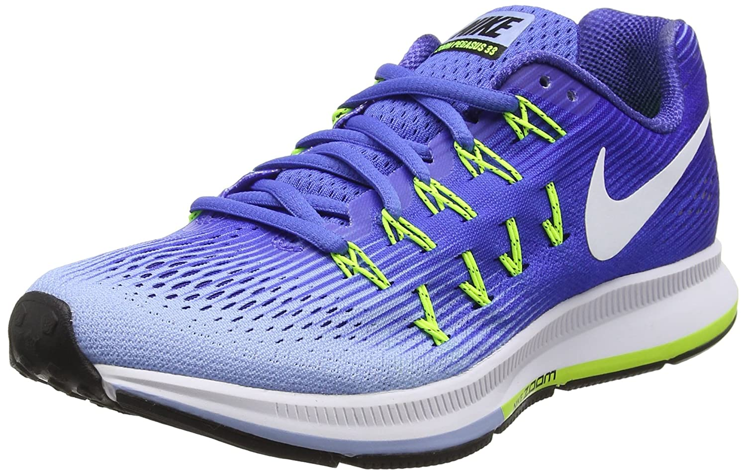 low cost c44dd 2f8d1 Nike Women s s Air Zoom Pegasus 33 Running Shoes  Amazon.co.uk  Shoes   Bags