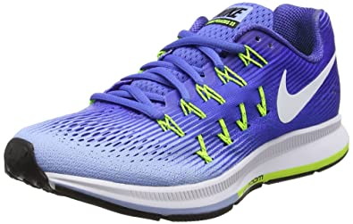san francisco a9094 3cd95 Nike Women s Wmns Air Zoom Pegasus 33 Running Shoes, Blue (Medium  Blue Aluminum