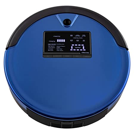 bObsweep PetHair Plus Robotic Vacuum Cleaner and Mop, Charcoal-parent Cobalt: Amazon.es: Hogar