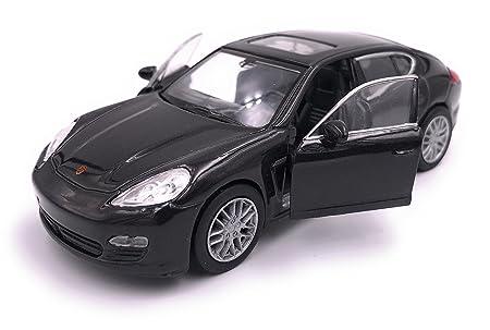 H-Customs Welly Porsche Panamera S Model Car Auto Producto con Licencia 1: 34-1: 39 Negro: Amazon.es: Coche y moto