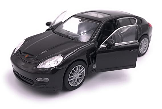H-Customs Welly Porsche Panamera S Model Car Auto PRODUCTO CON LICENCIA 1: 34-1: 39 Negro: Amazon.es: Coche y moto