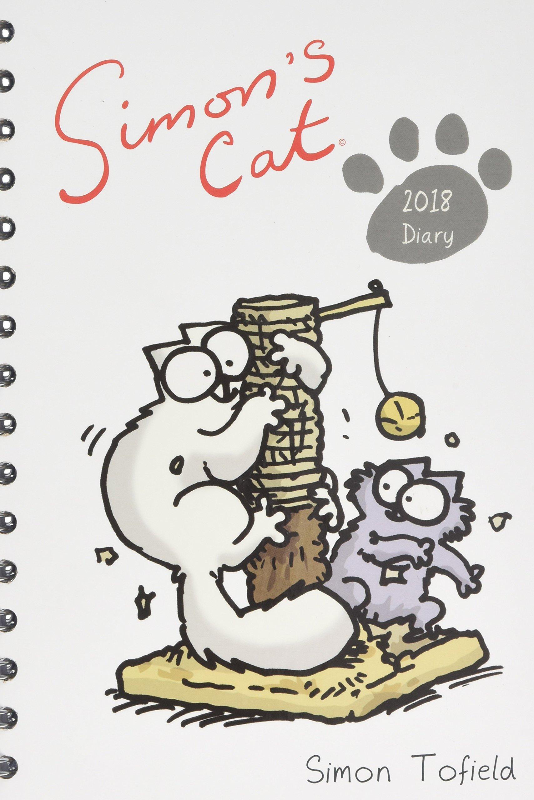2018 Simon's Cat A5 Wiro Diary pdf