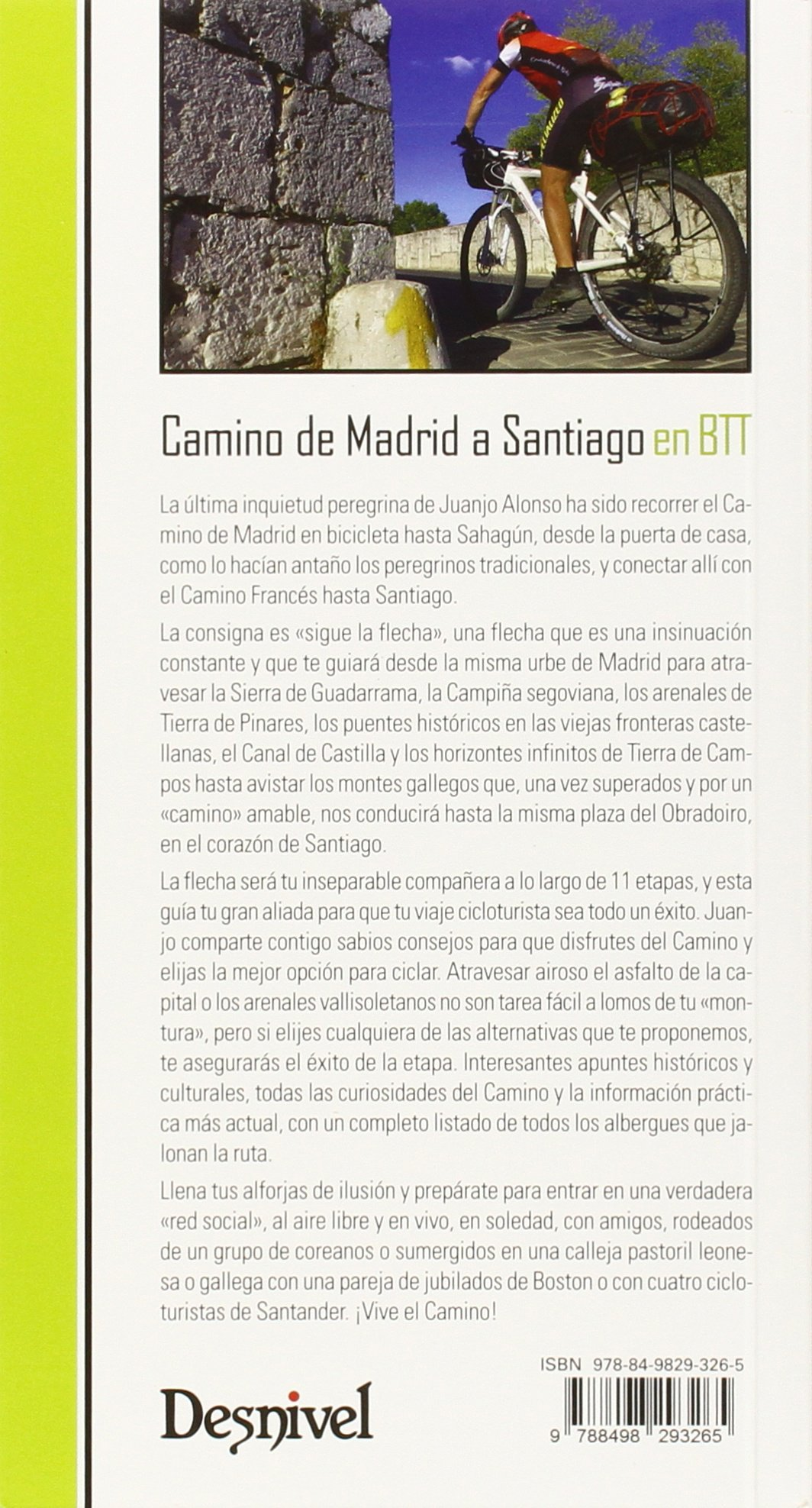 Camino de Madrid a Santiago en BTT Guias Cicloturistas: Amazon.es ...