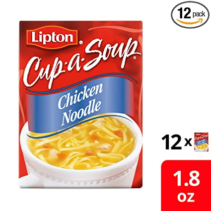 Tomato, Chicken /& Veg 24 Drink Variety Pack Thick /& Creamy 12oz in Cup Soups