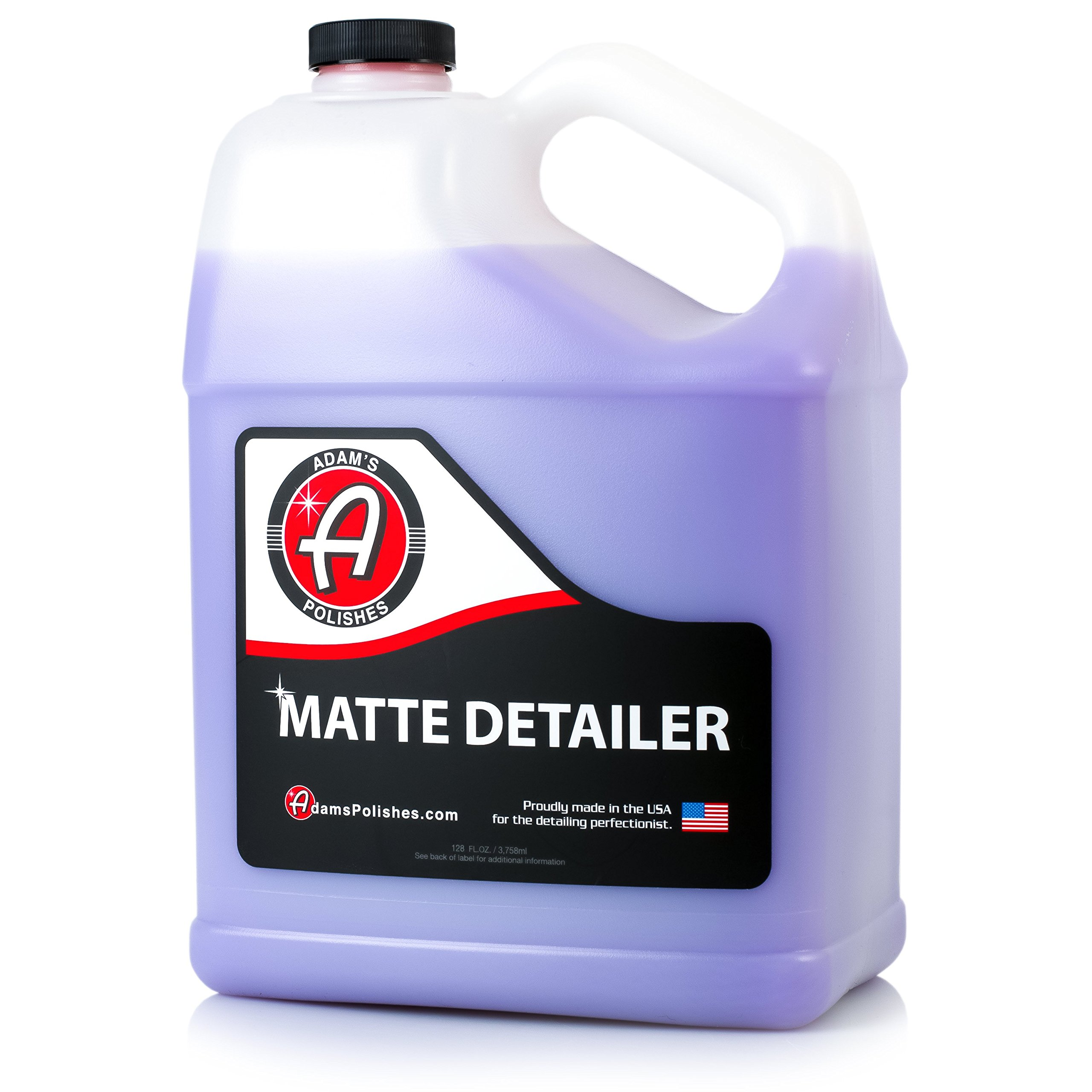 Adam's Matte Detailer - Specialized Formulation Perfect for Any Matte, Satin, and Gloss Finishes - Does Not Add Any Level of Shine - Easy to Use, with No Streaking or Residues (1 Gallon)