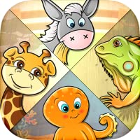 Kids Puzzle - learn 82 animals
