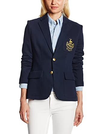 Polo Ralph Lauren Custom Blazer Jacket Veston, Bleu Blau (Aviator