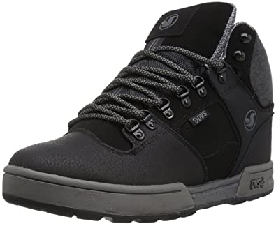 DVS Apparel Herren Westridge Steel Toe Skateboardschuhe, Noir (Black Leather Ferguson), 44 EU DVS