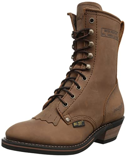 "Women's 8"" Packer Tan Work Boot"