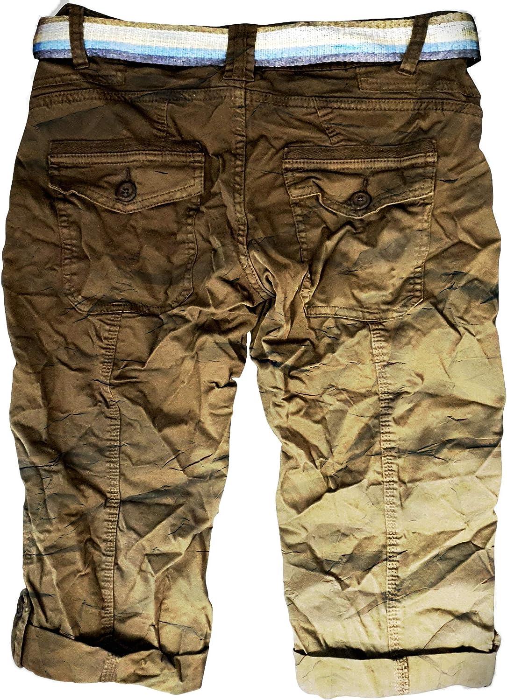 Vaqueros cortos para mujer bermudas con 5 bolsillos de URS Eight2Nine