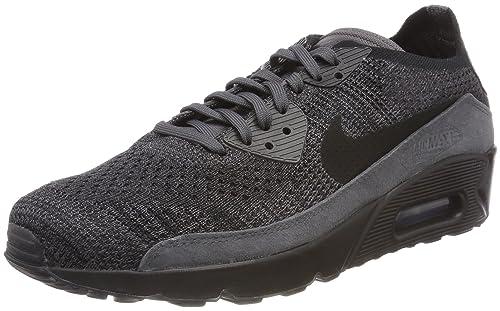 reputable site ec384 9873c Nike Air MAX 90 Ultra 2.0 Flyknit, Zapatillas para Hombre, Negro (Thunder  Black-Dark Grey 008), 45.5 EU  Amazon.es  Zapatos y complementos