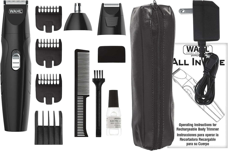 Wahl todo en uno recargable Grooming Kit #9685: Amazon.es: Belleza