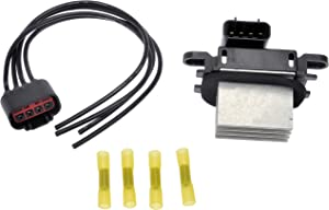 Dorman 973-506 Blower Motor Resistor Kit with Harness