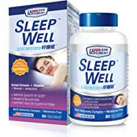 US Clinicals Sleep Well Capsules, 80 count