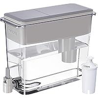 Brita Cántaros Brita 18Taza Dispensador de agua UltraMax con 1filtro, sin BPA, Gris